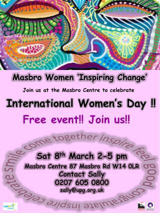 Masbro Women 'Inspiring  Change'