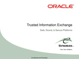Trusted Information Exchange