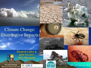 Climate Change:  Distributive Impacts