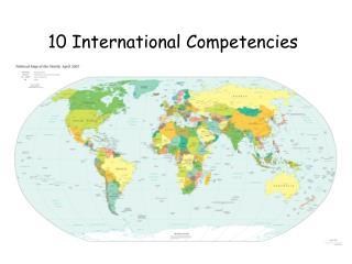 10 International Competencies