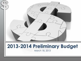 2013-2014 Preliminary Budget