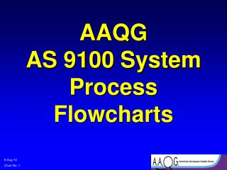AAQG  AS 9100 System Process Flowcharts