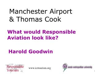 What would Responsible Aviation look like?