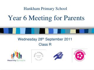 Year 6 Meeting for Parents