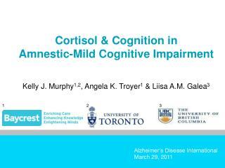 Alzheimer's Disease International March 29, 2011