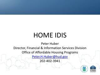 HOME IDIS