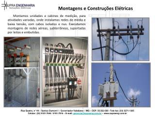 Montagens e Construções Elétricas