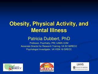 Obesity, Physical Activity, and Mental Illness
