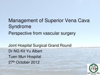 Management of Superior Vena Cava Syndrome  Perspective from vascular surgery