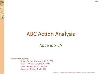 ABC Action Analysis