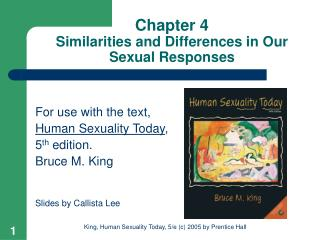 Chapter 4 Similarities and Differences in Our Sexual Responses