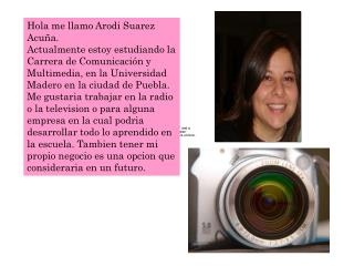 Hola me llamo Arodi Suarez Acuña.