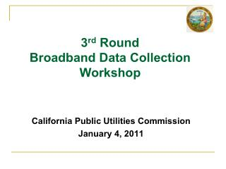 California Public Utilities Commission January 4, 2011