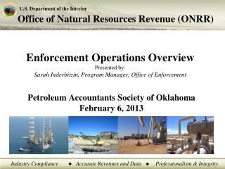 Petroleum Accountants Society of Oklahoma February 6, 2013