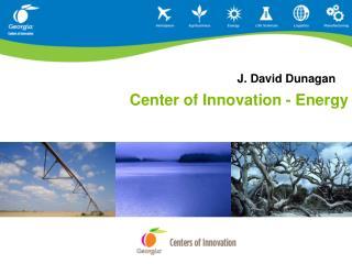 Center of Innovation - Energy