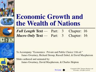 Economic Growth and  the Wealth of Nations