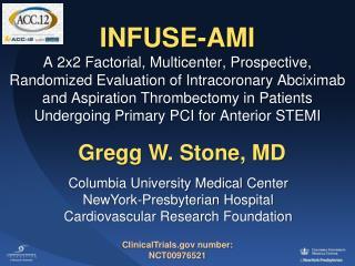 Gregg W. Stone, MD