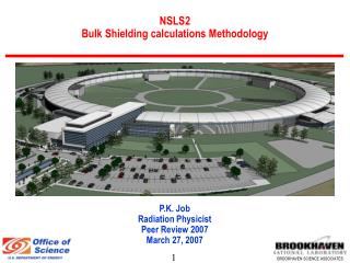 NSLS2 Bulk Shielding calculations Methodology