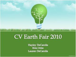 CV Earth Fair 2010