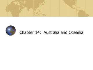 Chapter 14:  Australia and Oceania