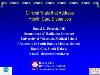Clinical Trials that Address  Health Care Disparities