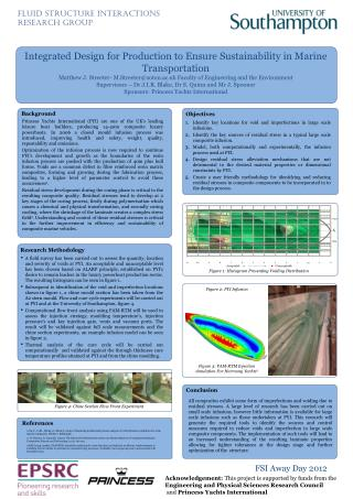 Integrated Design for Production to Ensure Sustainability in Marine Transportation