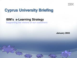 Cyprus University Briefing