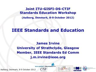 IEEE Standards and Education