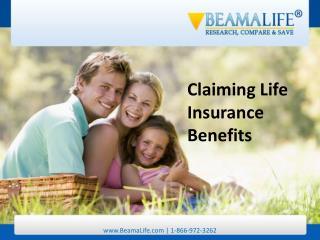 Claiming Life Insurance Benefits