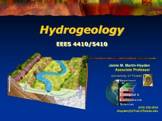 Jamie M. Martin-Hayden Associate Professor