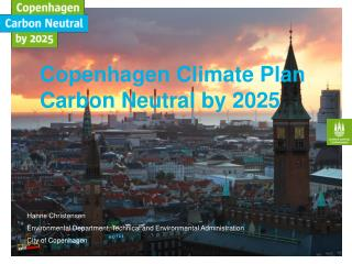 Copenhagen Climate Plan Carbon Neutral by 2025