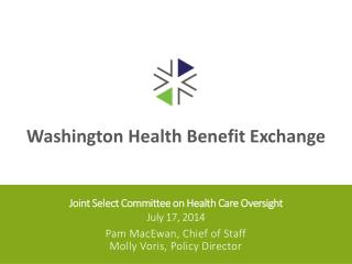 Joint Select Committee on Health Care Oversight July 17, 2014