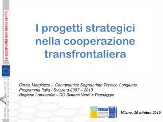 Cinzia Margiocco – Coordinatrice Segretariato Tecnico Congiunto