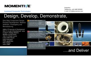 Design, Develop, Demonstrate,