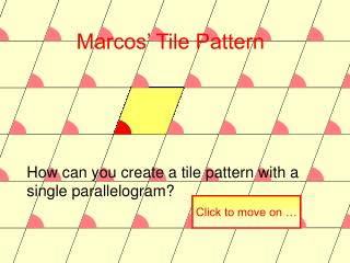 Click to start tessellation