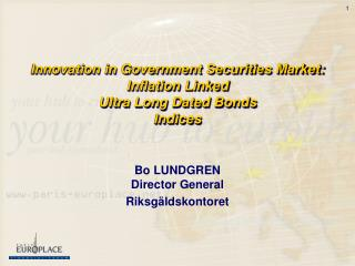 Innovation in Government Securities Market: Inflation Linked Ultra Long Dated Bonds Indices