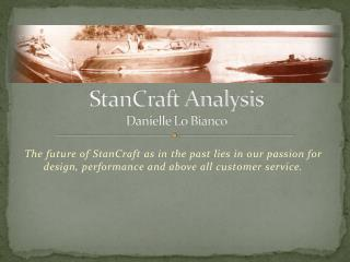 StanCraft Analysis Danielle Lo Bianco
