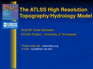 The ATLSS High Resolution Topography