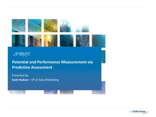 Potential and Performance Measurement via Predictive Assessment