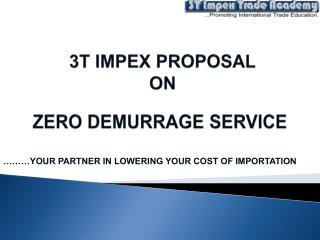 ………YOUR PARTNER IN LOWERING YOUR COST OF IMPORTATION