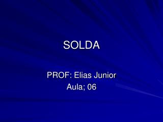 SOLDA