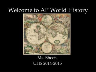 Welcome to AP World History