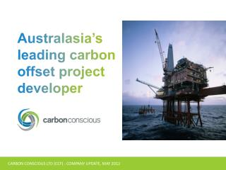 CARBON CONSCIOUS LTD (CCF) : COMPANY UPDATE, MAY 2012