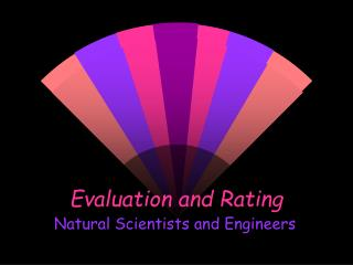 Evaluation and Rating