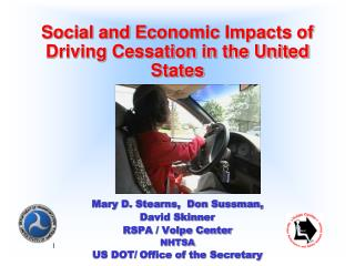 Social and Economic Impacts of Driving Cessation in the United States