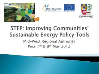 STEP: Improving Communities' Sustainable Energy Policy Tools