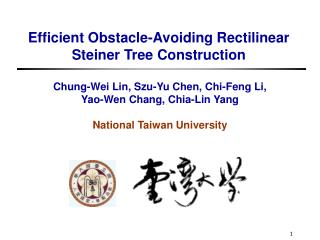 Efficient Obstacle-Avoiding Rectilinear  Steiner Tree Construction