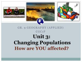 Unit 3: Changing  Populations How are YOU  affected ?