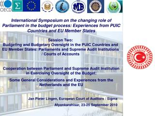 Jan Pieter Lingen, European Court of Auditors / Sigma  Afyonkarahisar, 23-25 September 2010
