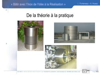 De la th orie   la pratique